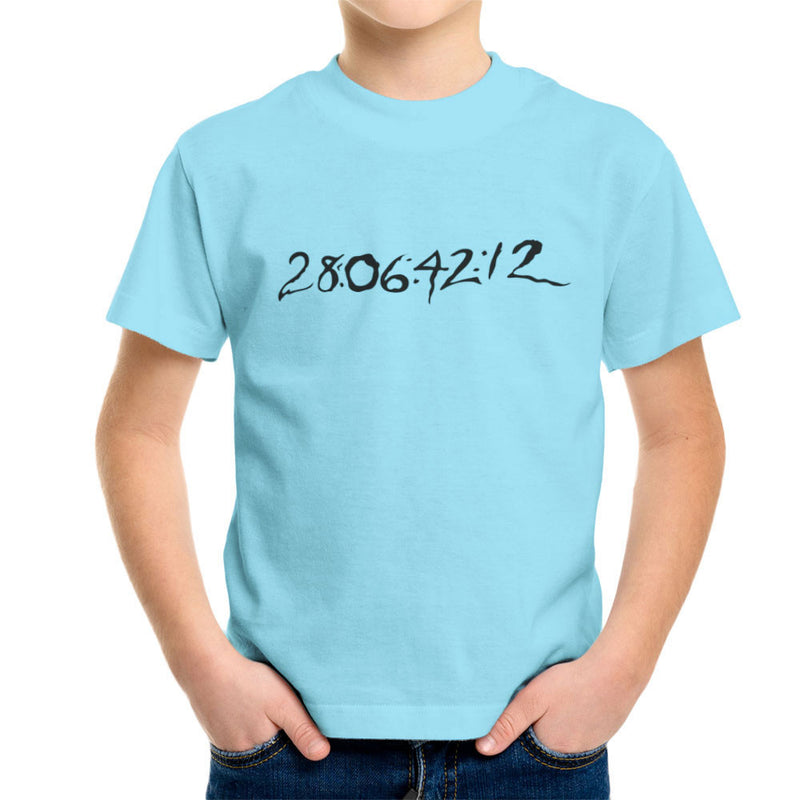 28 06 42 12 Donnie Darko Time Clear Light Kid's T-Shirt by DarkChoocoolat - Cloud City 7