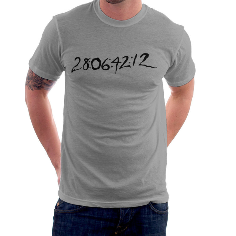 28 06 42 12 Donnie Darko Time Clear Light Men's T-Shirt by DarkChoocoolat - Cloud City 7
