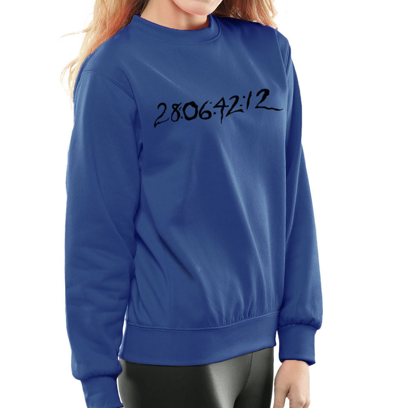 28 06 42 12 Donnie Darko Time Clear Light Women's Sweatshirt by DarkChoocoolat - Cloud City 7