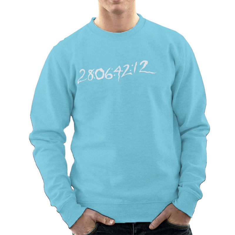 29 06 42 12 Donnie Darko Time Clear Dark Men's Sweatshirt by DarkChoocoolat - Cloud City 7