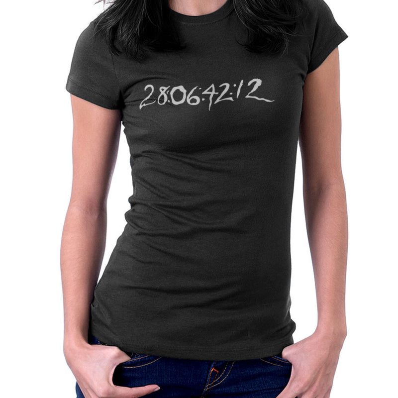 29 06 42 12 Donnie Darko Time Clear Dark Women's T-Shirt by DarkChoocoolat - Cloud City 7