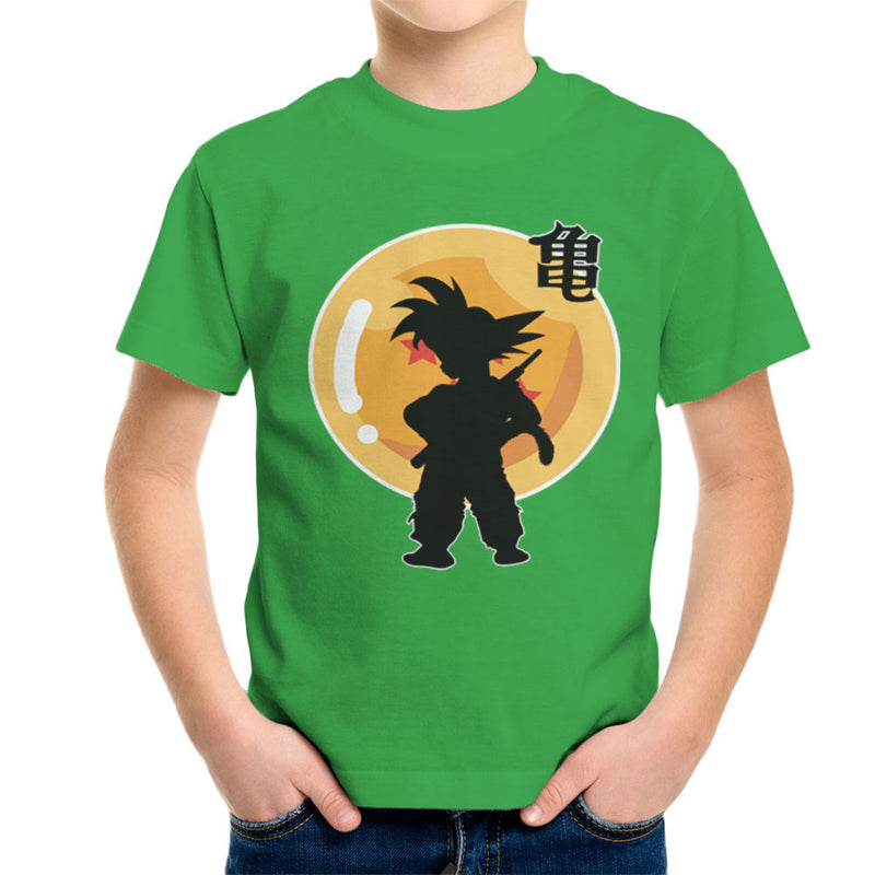 Dragon Fighter Young Goku Dragon Ball Z Kid's T-Shirt by DarkChoocoolat - Cloud City 7