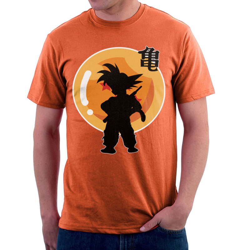 Dragon Fighter Young Goku Dragon Ball Z Men's T-Shirt by DarkChoocoolat - Cloud City 7