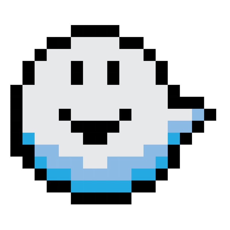 Fantomini Ghost Mario Pixel Grin by DarkChoocoolat - Cloud City 7