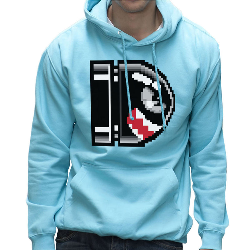 Flying Bullet Bill Super Mario Men's Hooded Sweatshirt by DarkChoocoolat - Cloud City 7