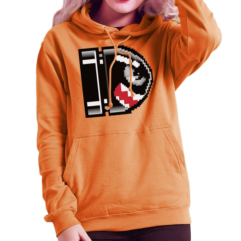 Flying Bullet Bill Super Mario Women's Hooded Sweatshirt by DarkChoocoolat - Cloud City 7