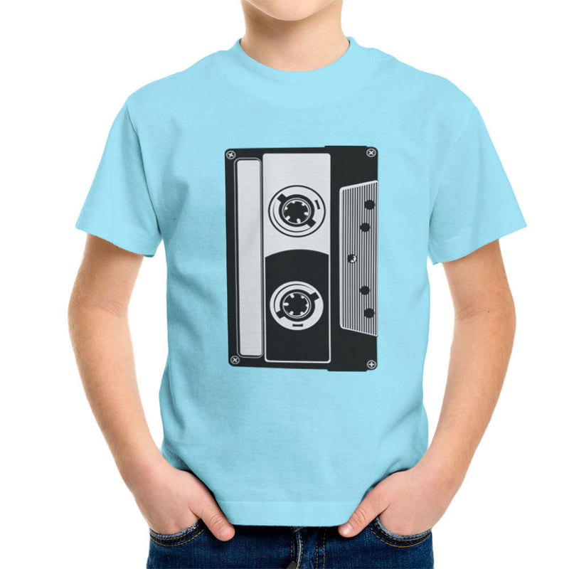Mixtape Tape Cassette Kid's T-Shirt by DarkChoocoolat - Cloud City 7