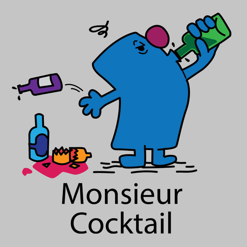 Mr Men Monsieur Cocktail by DarkChoocoolat - Cloud City 7