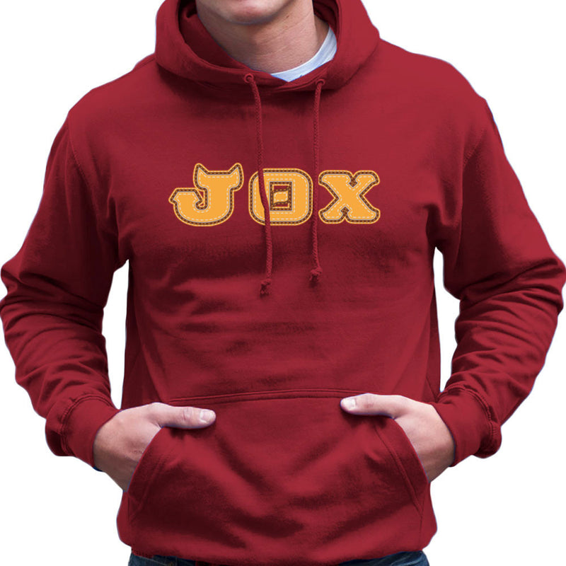 Monster University Fraternity Jaws Theta Chi JOX Men's Hooded Sweatshirt by DarkChoocoolat - Cloud City 7