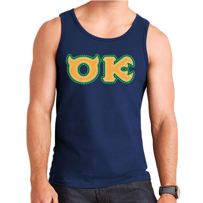 Monster University Fraternity Oozma Kappa OK Men's Vest by DarkChoocoolat - Cloud City 7