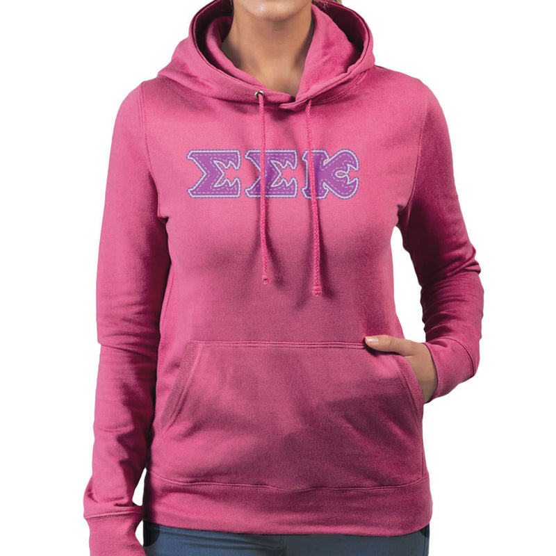 Monster University Fraternity Slugma Slugma Kappa EEK Women's Hooded Sweatshirt by DarkChoocoolat - Cloud City 7