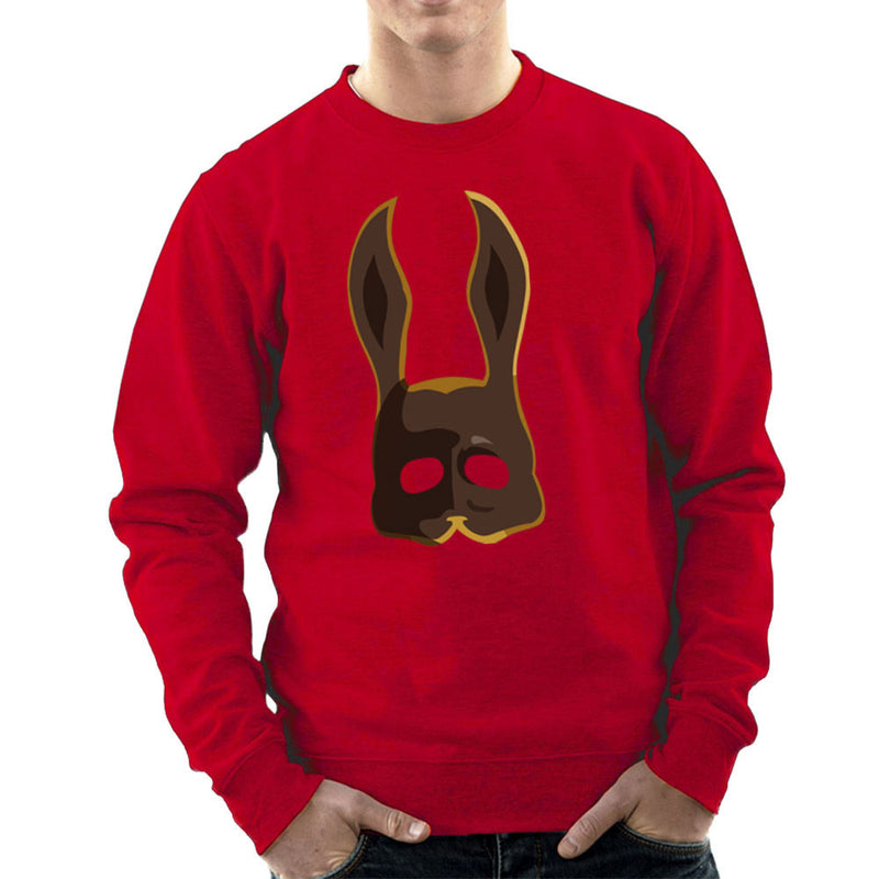 Brown Splicer Bunny Mask Bioshock Men's Sweatshirt by Lazy Nugu - Cloud City 7