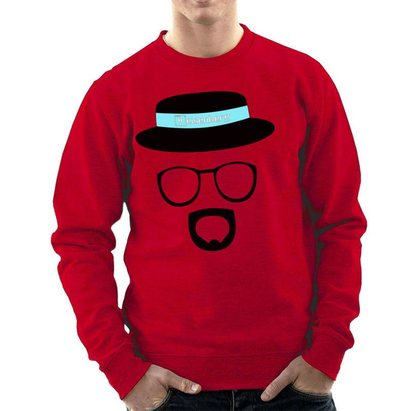 Heisenberg Walter White Breaking Bad Men's Sweatshirt by Lazy Nugu - Cloud City 7