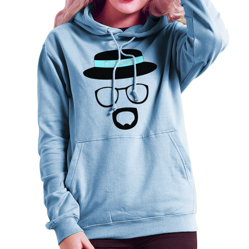 Heisenberg Walter White Breaking Bad Women's Hooded Sweatshirt by Lazy Nugu - Cloud City 7