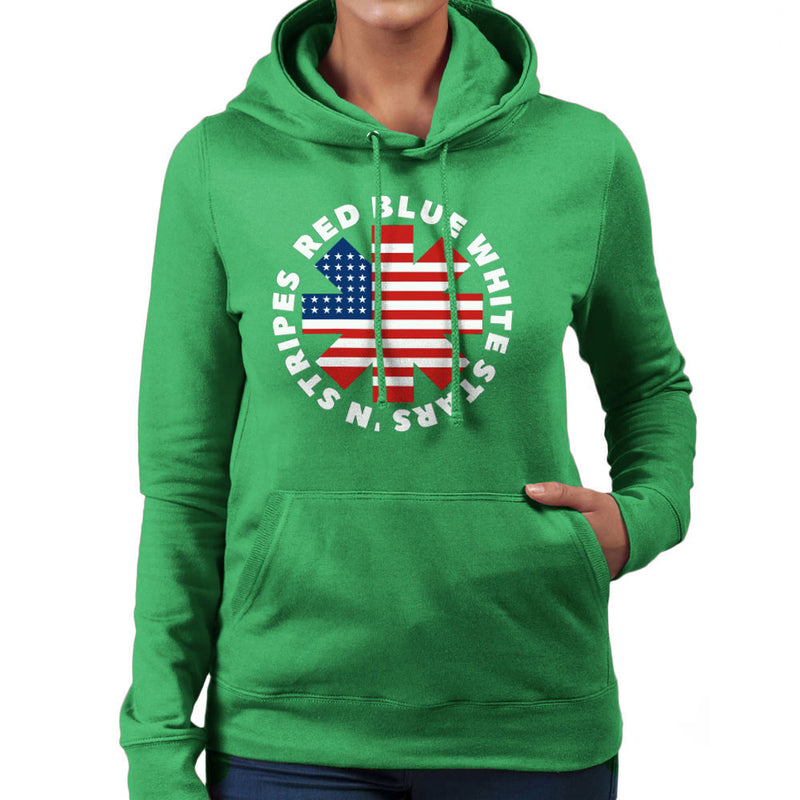 America Peppers Women's Hooded Sweatshirt by Kempo24 - Cloud City 7