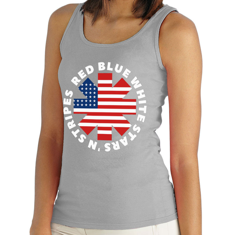 America Peppers Women's Vest by Kempo24 - Cloud City 7