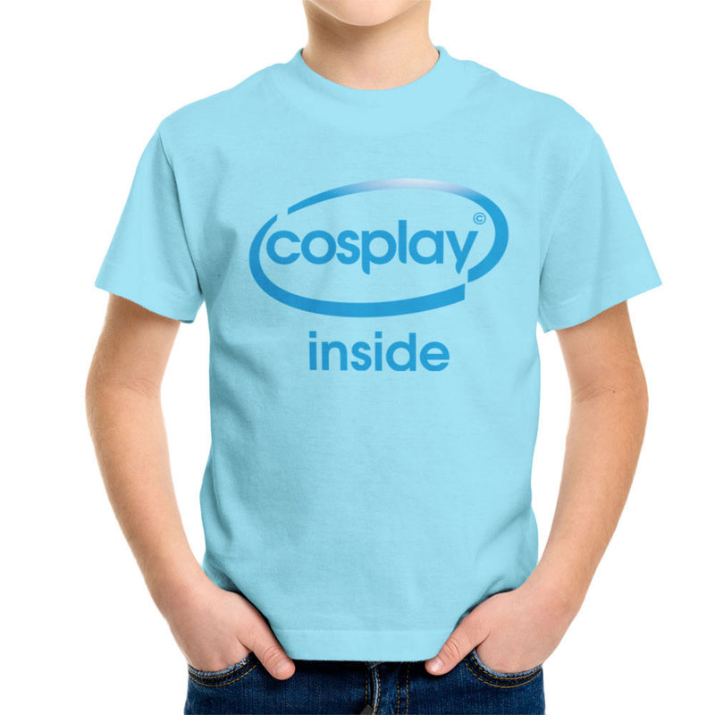 Cosplay Inside Intel Logo Costume Roleplay Kid's T-Shirt by Kempo24 - Cloud City 7