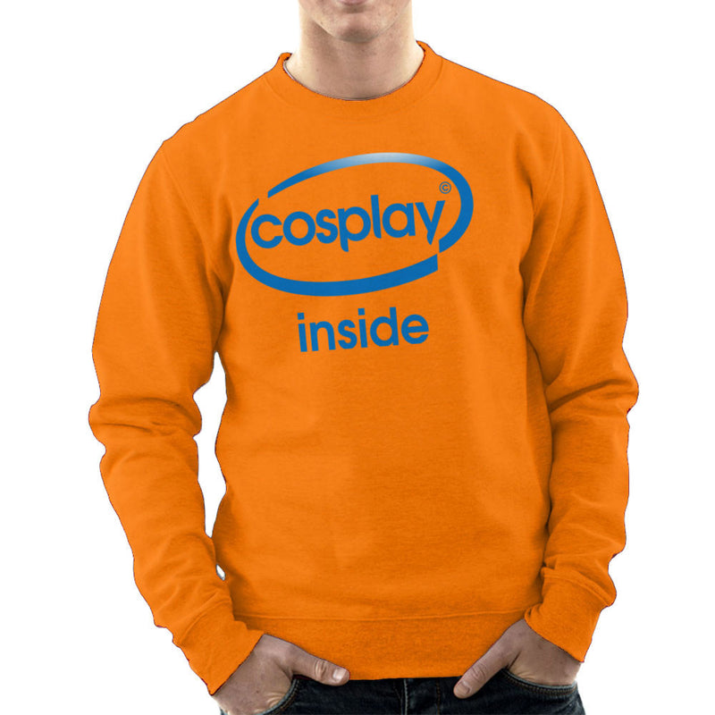 Cosplay Inside Intel Logo Costume Roleplay Men's Sweatshirt by Kempo24 - Cloud City 7