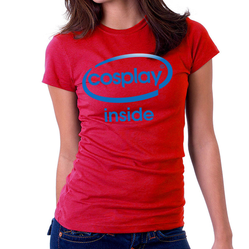 Cosplay Inside Intel Logo Costume Roleplay Women's T-Shirt by Kempo24 - Cloud City 7