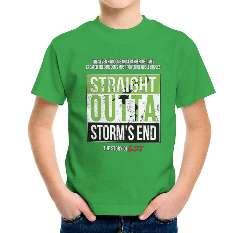 30bbf6b1 ... Straight Outta Storms End Game Of Thrones Kid's T-Shirt by Kempo24 -  Cloud City ...