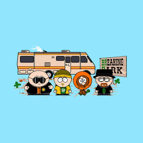 Breaking Park Bad South Kyle Heisenberg Cartman Hank Stan Jesse Kenny Tortuga