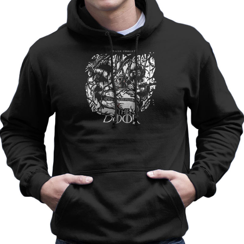Hodor Hold The Door Game Of Thrones Scene Men's Hooded Sweatshirt by AndreusD - Cloud City 7