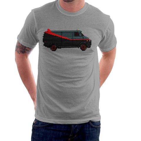 A Team Pixel Van GMC Vandura Men's T-Shirt