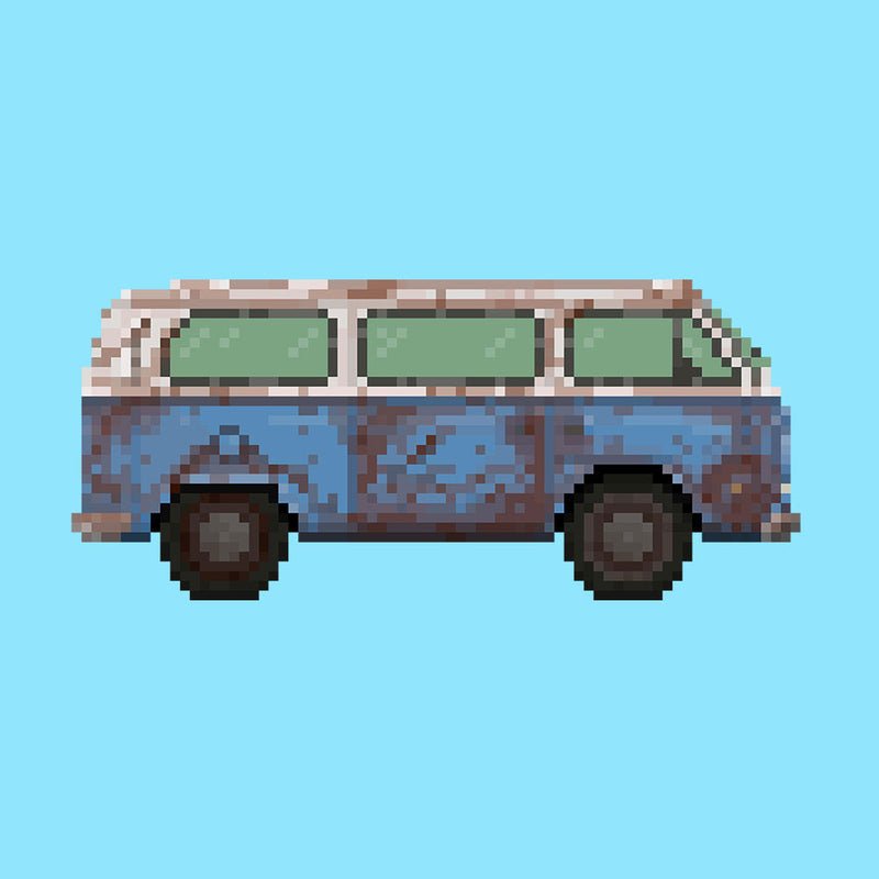 Dhama Pixel Van Volkswagen Type Two Lost by Pixel Faces - Cloud City 7
