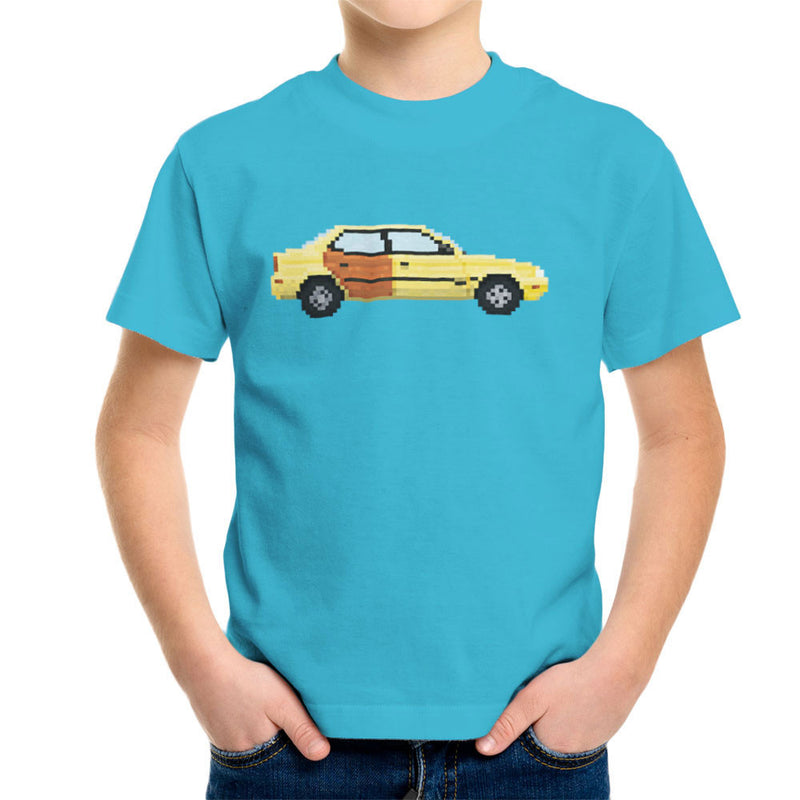 Better Call Saul Pixel Car Suzuki Esteem Kid's T-Shirt by Pixel Faces - Cloud City 7