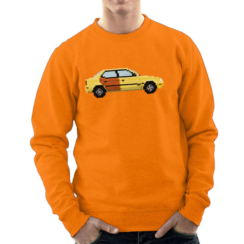 Better Call Saul Pixel Car Suzuki Esteem Men's Sweatshirt by Pixel Faces - Cloud City 7