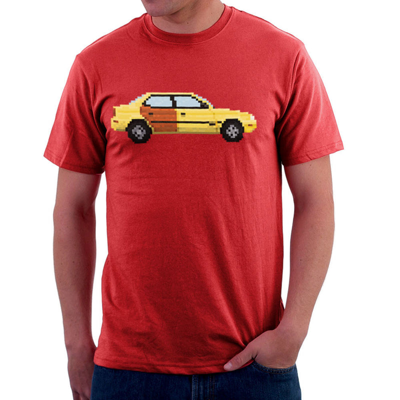 Better Call Saul Pixel Car Suzuki Esteem Men's T-Shirt by Pixel Faces - Cloud City 7
