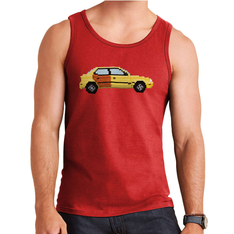 Better Call Saul Pixel Car Suzuki Esteem Men's Vest by Pixel Faces - Cloud City 7