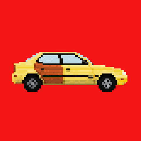 Better Call Saul Pixel Car Suzuki Esteem