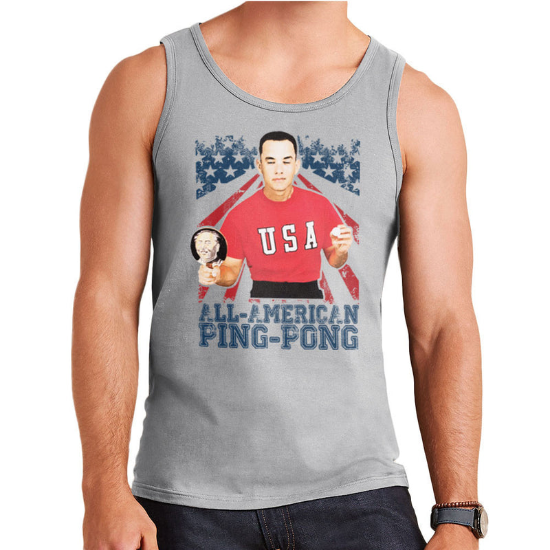 Forrest Gump All American Ping Pong Men's Vest by Nova5 - Cloud City 7
