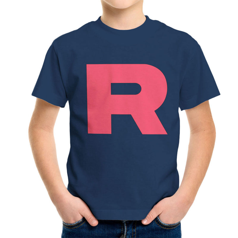 98ef224f ... Pokemon Team Rocket R Kid's T-Shirt by Nova5 - Cloud City 7 ...