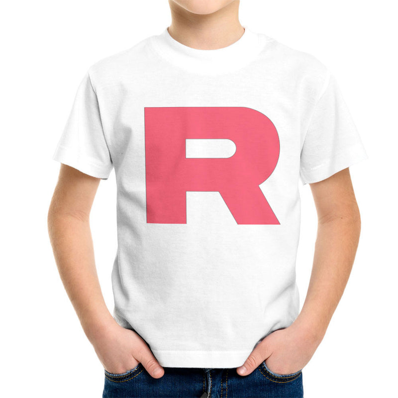 1023af72 Pokemon Team Rocket R Kid's T-Shirt by Nova5 - Cloud City 7 ...