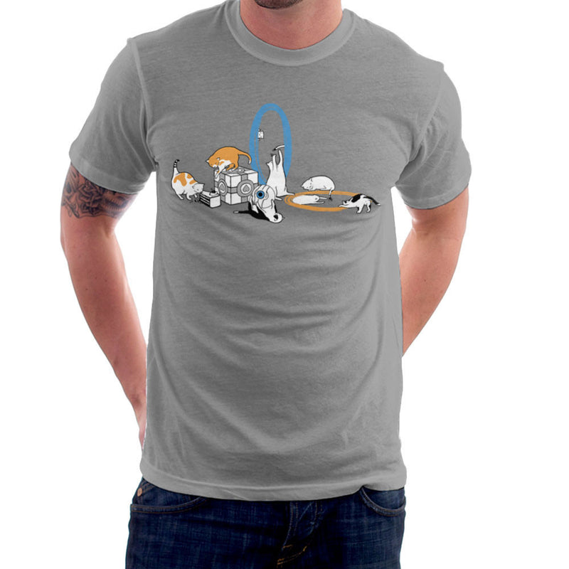 Cats Of Science Men's T-Shirt by Crumblin Cookie - Cloud City 7