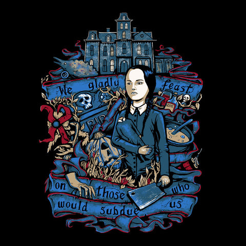 Wednesday Addams We Gladly Feast The Addams Family