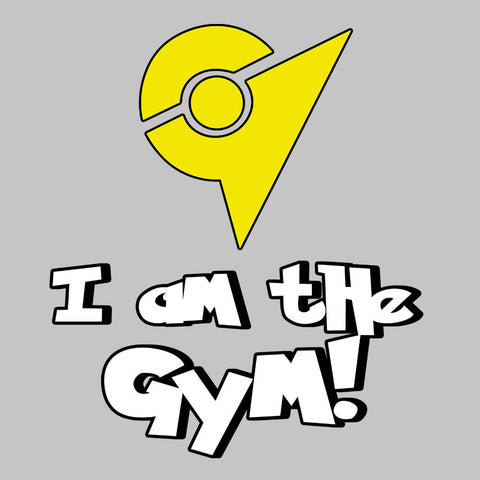 Pokemon Go I Am The Gym Yellow