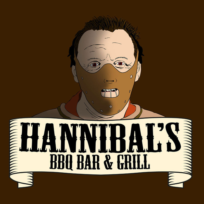 Hannibals BBQ Bar And Grill Men's Sweatshirt by Bevatron - Cloud City 7
