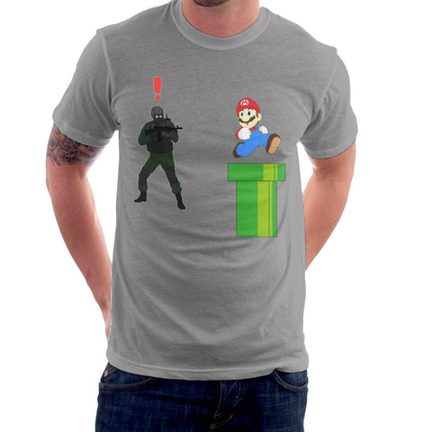 Metal Gear Solid Enemy Soldier Alert Super Mario