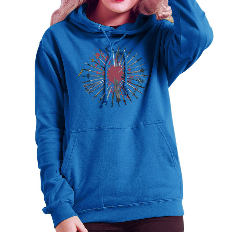 Fantasy Sword Collection Women's Hooded Sweatshirt by Bevatron - Cloud City 7