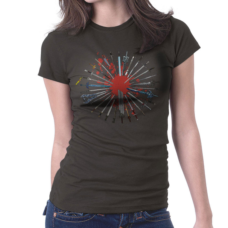 Fantasy Sword Collection Women's T-Shirt by Bevatron - Cloud City 7