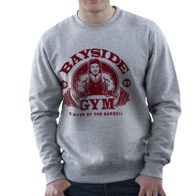 Bayside Gym Saved By The Bell A C Slater Men's Sweatshirt by Create Or Destroy - Cloud City 7