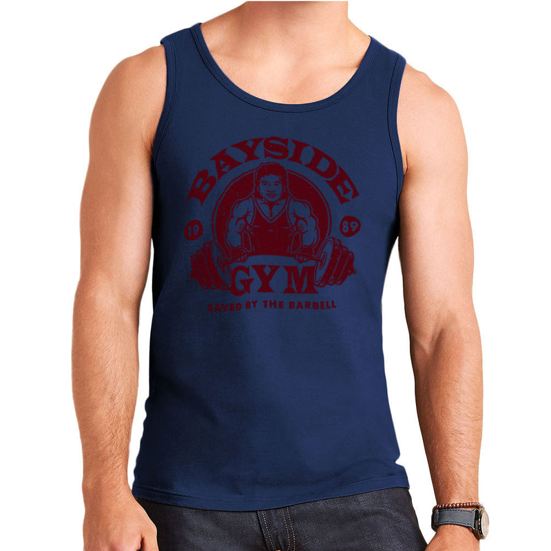 Bayside Gym Saved By The Bell A C Slater Men's Vest by Create Or Destroy - Cloud City 7