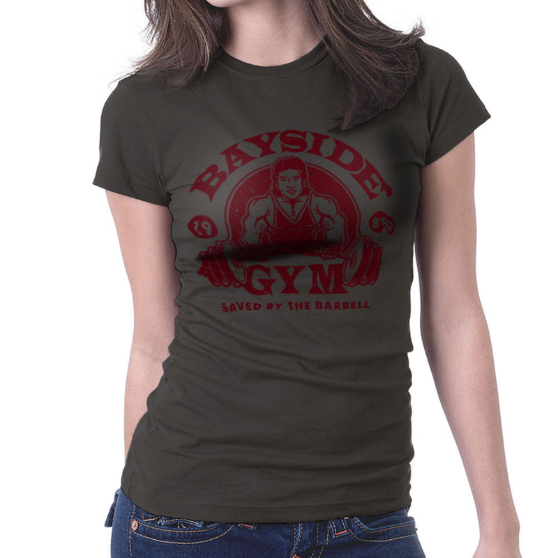 Bayside Gym Saved By The Bell A C Slater Women's T-Shirt by Create Or Destroy - Cloud City 7
