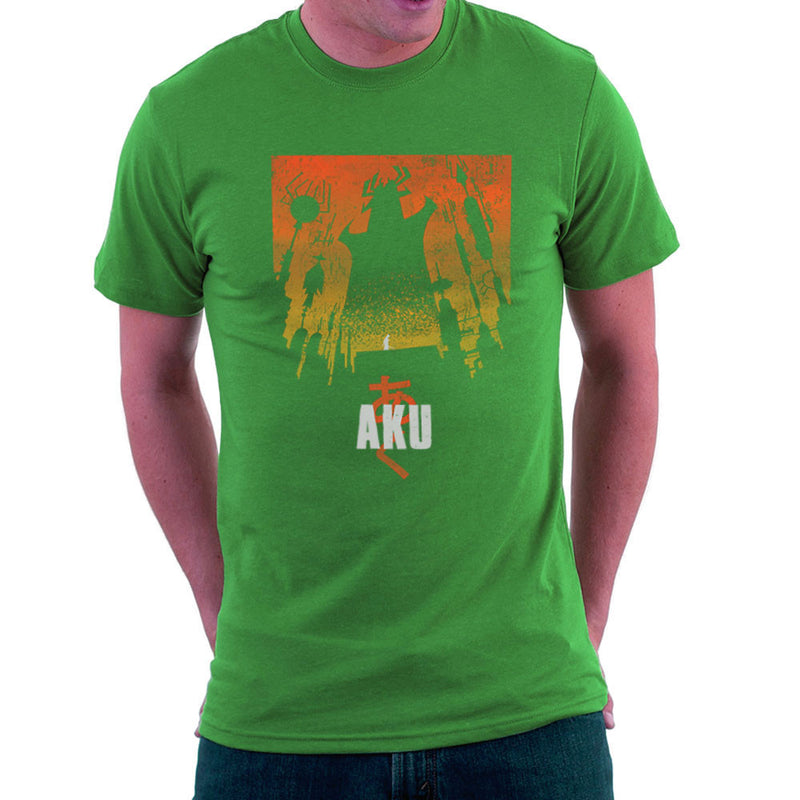 Akaiju Samurai Jack Aku Men's T-Shirt by Create Or Destroy - Cloud City 7
