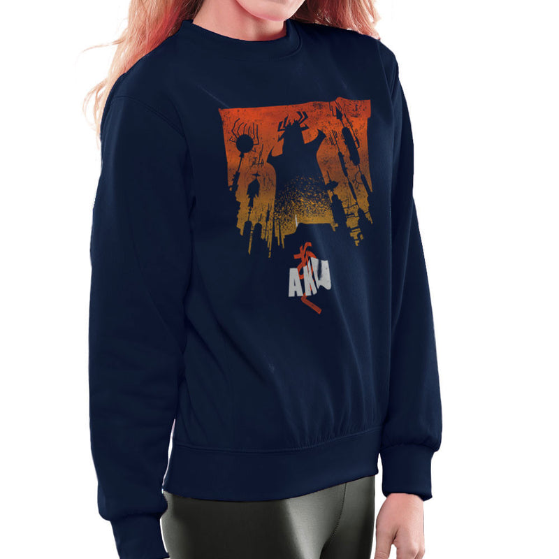 Akaiju Samurai Jack Aku Women's Sweatshirt by Create Or Destroy - Cloud City 7