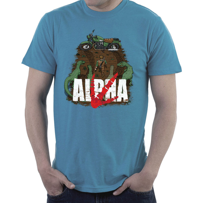 Akira Park Alpha Jurassic World Owen Men's T-Shirt by Create Or Destroy - Cloud City 7