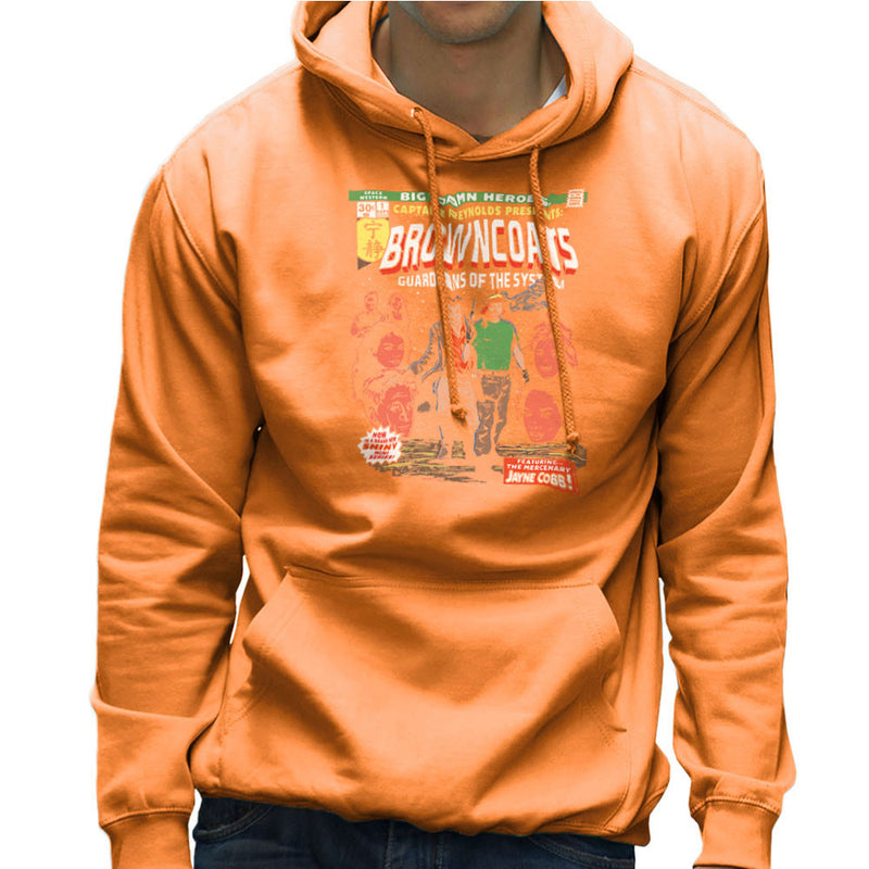 Browncoats Big Damn Heroes Firefly Serenity Comic Book Men's Hooded Sweatshirt by Create Or Destroy - Cloud City 7
